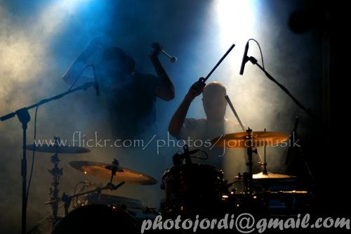 Imatge del cantant i bateria